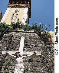 Church in Bath Herculane, Banat, Romania, Eastern Europe