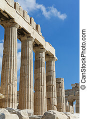 Parthenon - The Parthenon at the Acropolis in Athens, Greece