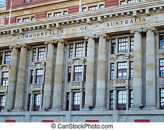General post office in Perth of Western Australia