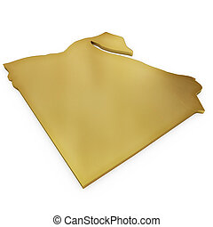 The photorealistic golden shape of Egypt (series)