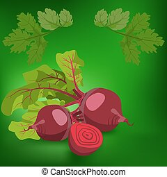 beetroot. Healthy lifestile - Beetroot. Label, there is a...