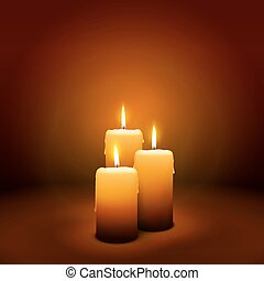 3rd Sunday of Advent - Third Candle - Candlelight - 3rd...