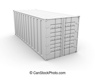 Container - 3D rendered Illustration