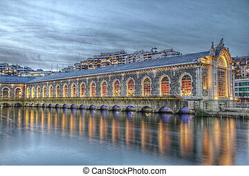 Batiment des Forces-Motrices Geneva Switzerland HDR