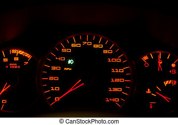 Car Dashboard Gauges