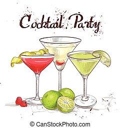 The Unforgettables Cocktail Set cocktail party, excellent...