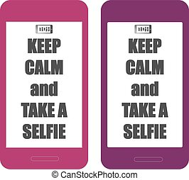 Keep Calm SELFIE