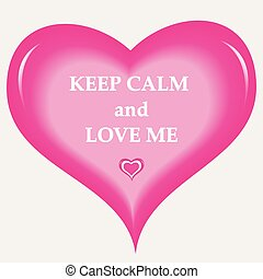 Keep Calm Love