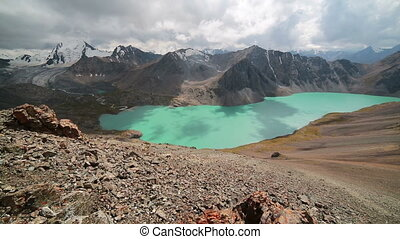 Ala Kul lake Tien Shan mountains Kyrgyzstan - Ala Kul lake...
