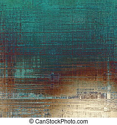 Beautiful vintage background. With different color patterns: yellow (beige); brown; blue; green