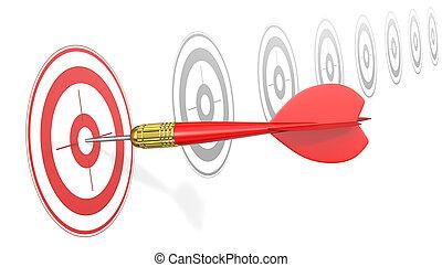 Hitting Target.