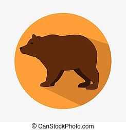 Bear animal design