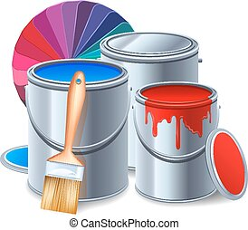 Painting Tools Composition