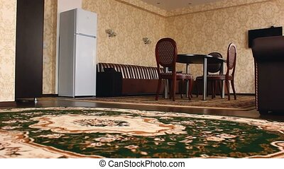 chair hotel room Interior with chairs and carpets beautiful...