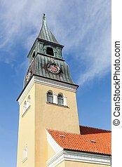 Skagen church in Denmark