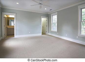 bedroom suite  - empty bedroom suite, place own furniture