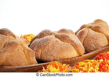 Day of the Dead Bread (Pan de Muerto) - Sweet bread called...