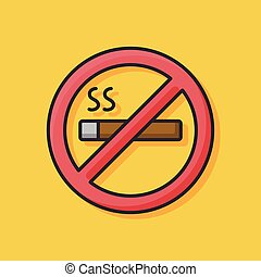 no smoke icon