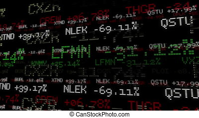 Stock Market Tickers. Loopable. - Stock Market Tickers at...
