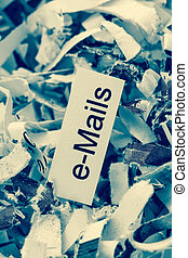 shredded paper keywords emails - papierschnitzel tagged with...