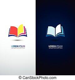 Book - colorful book icon,