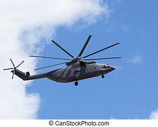 Transport helicopters - Modern russian military transport...