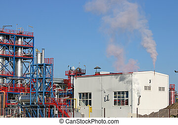 new petrochemical plant oil industry