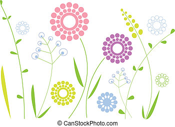 spring flowers - simple floral design