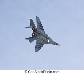 MIG 29 - polish mig 29 display