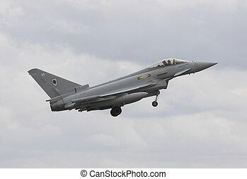 eurofighter typoon - typhoon take off