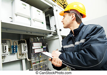 electrician engineer worker