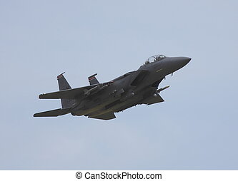 boeing f15 - f15 missed approach