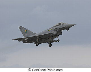 eurofighter typoon - typhoon landing