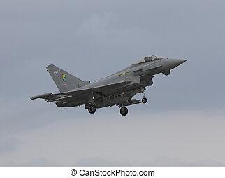 eurofighter typoon - typhoon landing