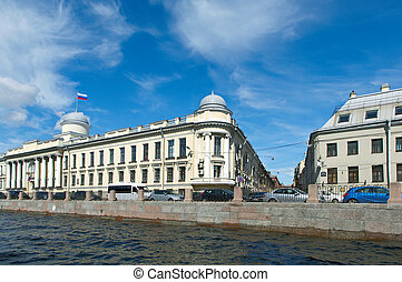 Near the Fontanka river Saint-Petersburg - Near the Fontanka...
