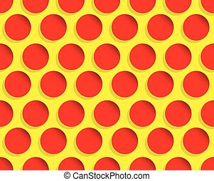 Dotted pop art like background, pattern Seamlessly...