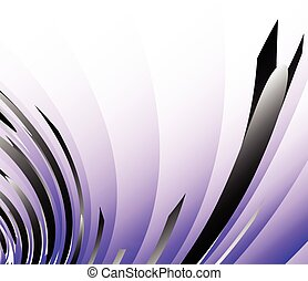 Abstract digital art background in purple. Editable vector