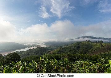 Huai Phu E son Nong kai,Thailand. - View from Huai Phu E son...