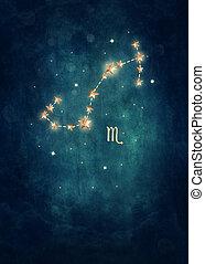 Scorpio astrological sign in the Zodiac