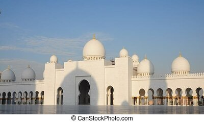 ^Sheikh Zayed Mosque in Abu Dhabi