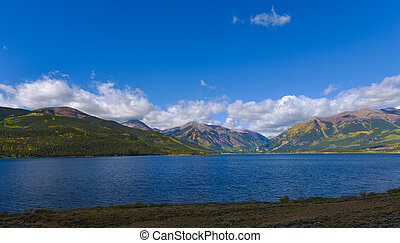 Twin Lakes Colorado Located 21 miles southwest of Leadville...