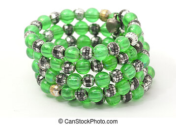Green bangles - Green layered bangles - used as jewellery...