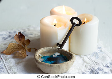 divination of wax - tradition polish wax (candle) divination...