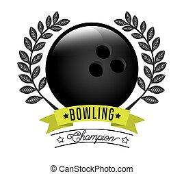 sport champion design, vector illustration eps10 graphic