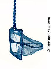 Fishing net in blue