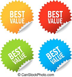 Best value stickers