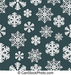Abstract Christmas and New Year Seamless Pattern Background. Vector Illustration
