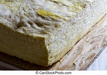 Mineral wool THERMAL INSULATION - house thermal protection