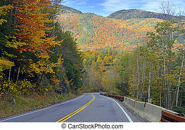 Autumn colors in the Adirondacks - Fall foliage, Autumn...