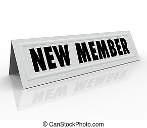 New Member Introduction Welcome Joining Committee - New...